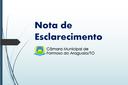 A Câmara Municipal de Formoso do Araguaia vem a público informar que a contratação da assessoria jurídica para atender a casa de leis seguiu todos os trâmites legais.